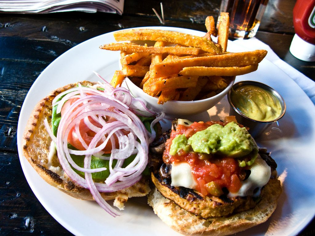 What Makes a Tasty Veggie Burger?